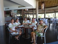 12 friendly staff at Tahiti Pearl Beach
